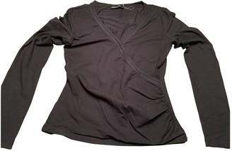 Marc Cain Black Cotton Top for Women