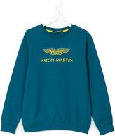 Aston Martin Kids - Teen logo sweatshirt - kids - Cotton/Spandex/Elastane - 16 yrs