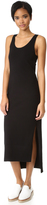 DKNY Sleeveless Dress with Side Slits