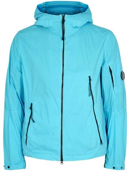 C.P. Company Aqua Hooded Coated Shell Jacket