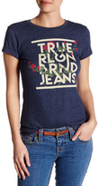 True Religion Viney Roses Tee
