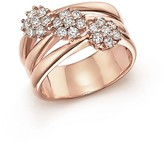 Bloomingdale's Diamond Multi-Band Ring in 14K Rose Gold, .58 ct. t.w