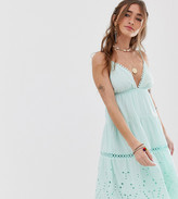 Sisters Of The Tribe tiered cami midi dress