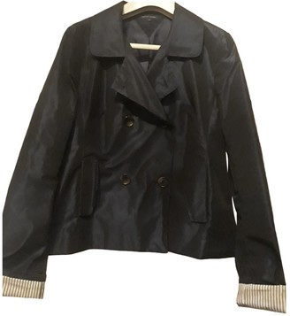 Tommy Hilfiger Blue Trench Coat for Women