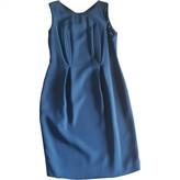 Jil Sander Blue Silk Dress for Women
