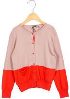 Stella McCartney Girls' Colorblock Long Sleeve Cardigan w/ Tags