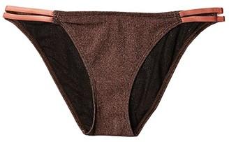 Flagpole Estelle Bottoms (Bronze) Women's Swimwear