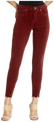 Blank NYC The Bond Mid-Rise Skinny in Claret