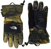 The North Face Kids Montana Etiptm Gore-Tex(r) Gloves (Little Kids/Big Kids) (Burnt Olive Green Waxed Camo Print) Ski Gloves