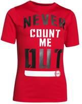 Under Armour Boys' UA Combine® Training Never Count Me Out T-Shirt