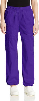 Cherokee Women's Workwear Scrubs Core Stretch Pull-On Cargo Pant