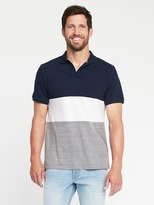 Old Navy Built-In Flex Color-Block Pro Polo for Men