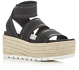 J/Slides Women's Quartz Wedge Platform Sandals