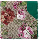Gucci 'GG Blooms' scarf - women - Modal/Silk - One Size