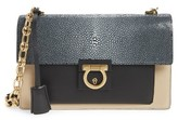 Salvatore Ferragamo Stingray Leather Crossbody Bag - None