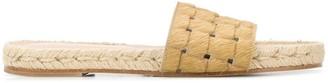 Solange Woven Slides