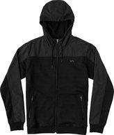 RVCA Men's Overlay Tech Fleece Jacket