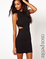 Asos Exclusive Body-Conscious Dress With Cut Out Sides And Zip Back