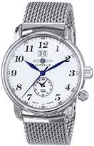 Zeppelin Men's Quartz Watch LZ127 Graf 7644M1 with Metal Strap