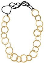 Kenneth Jay Lane Interlocking Circles Necklace