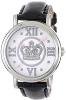 Juicy Couture Women's 1900760 Spotlight Black Patent Leather Strap Watch