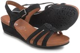 ara Sunday Strappy Wedge Sandals - Nubuck (For Women)