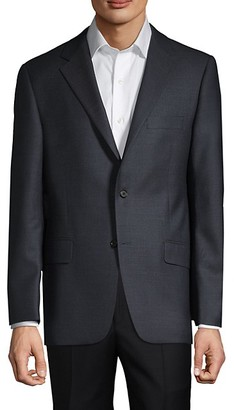 Hickey Freeman Wool-Blend Suit Jacket
