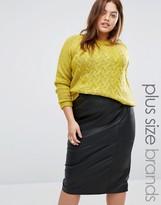 Junarose Criss Cross Knit Sweater