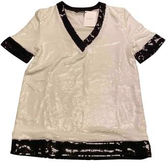 Balmain White Silk Knitwear for Women