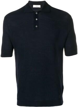 Pringle plain knitted polo shirt