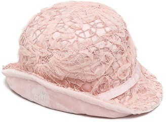 MonnaLisa Lace Embroidered Bucket Hat