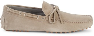 Canali Slip-On Suede Loafers