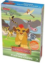 Cardinal Disney's The Lion Guard Jumbo Playing Cards Set by