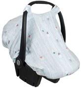 Bebe Au Lait Infant Muslin Car Seat Cover
