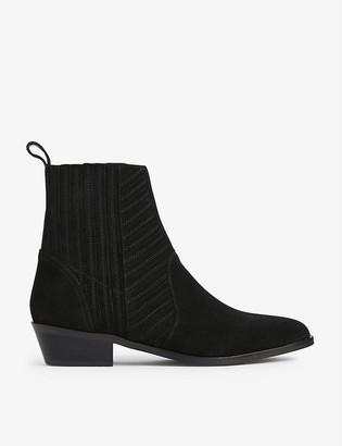 AllSaints Fion suede Chelsea boots