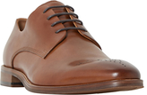 Dune Placebo Gibson Shoes, Tan