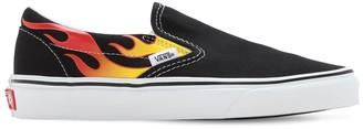 Vans Slip-on Flame Sneakers