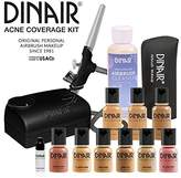 Dinair Airbrush Makeup | Top Acne Coverage Kit | Medium Shades