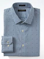 Banana Republic Grant-Fit Non-Iron Stretch Check Shirt