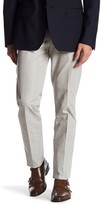 Bonobos Foundation Grey Plaid Regular Fit Double-Pleated Cotton Trouser - 30-32 Inseam