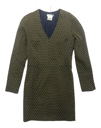 Roseanna Khaki Cotton - elasthane Dresses
