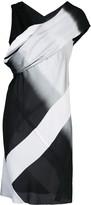 Rick Owens sleeveless panelled mini dress