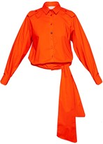 Talented Low Waist Blouse Orange