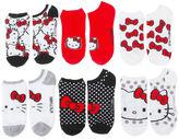 Asstd National Brand Women's 6pk Hello Kitty No Show Socks