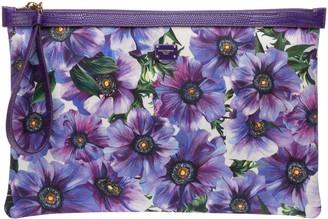Dolce & Gabbana Floral Print Clutch