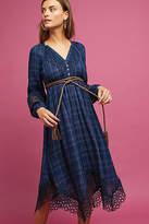 Akemi + Kin Plaid Kerchief Dress