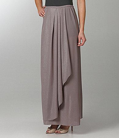 Patra Metallic Long Skirt