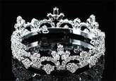 Exquisite Form Exquisite Rhinestones Crystal Photo Prop Newborn Baby Tiara Crown