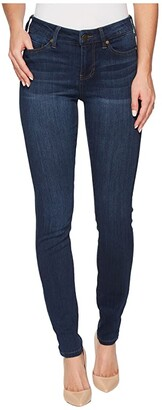 Liverpool Abby Skinny Jeans in Silky Soft Stretch Denim in San Andreas Dark (San Andreas Dark) Women's Jeans