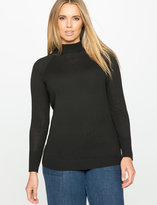 ELOQUII Plus Size Turtleneck Sweater